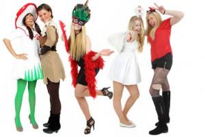 Beispiel verschiedener Kostüme