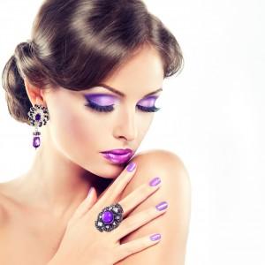 Beispiel für ein passendes Make-up zum Nagellack